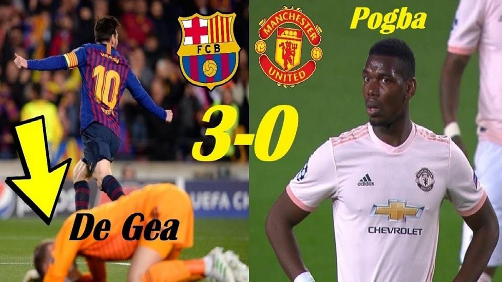 5 điểm nhấn Barca 3-0 M.U: Pogba quá phế, Messi quá đỉnh