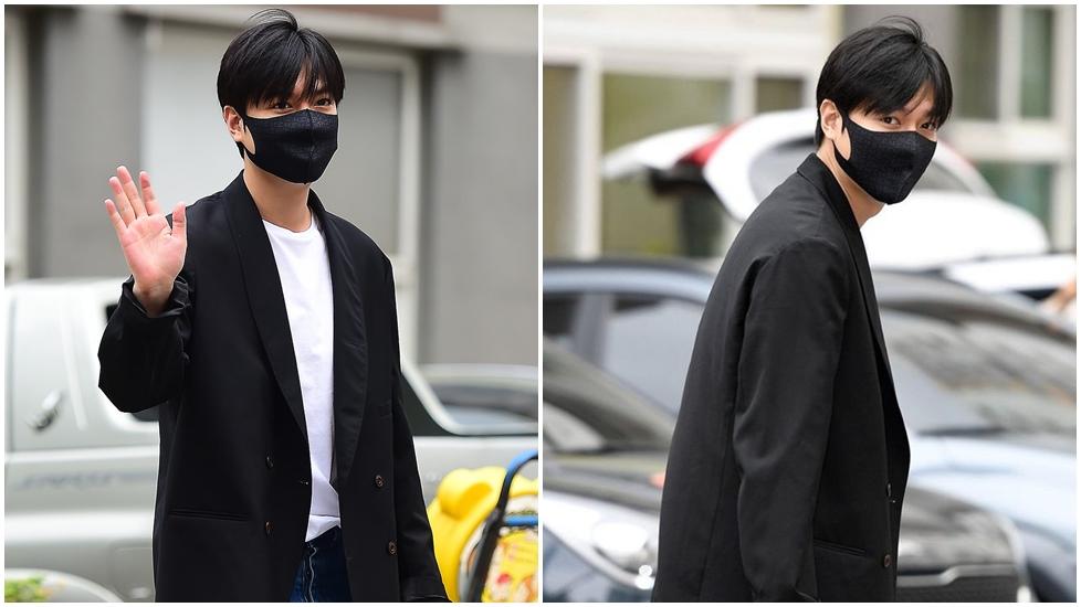 Hot: Lee Min Ho xuất ngũ, đẹp rạng ngời, fan chờ từ đêm