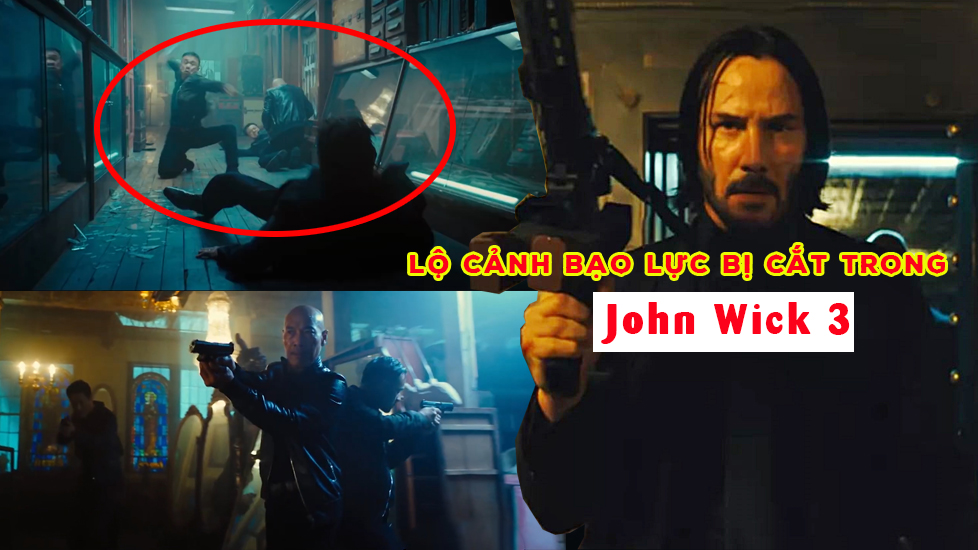 Lộ cảnh bạo lực bị cắt trong 'John Wick 3'