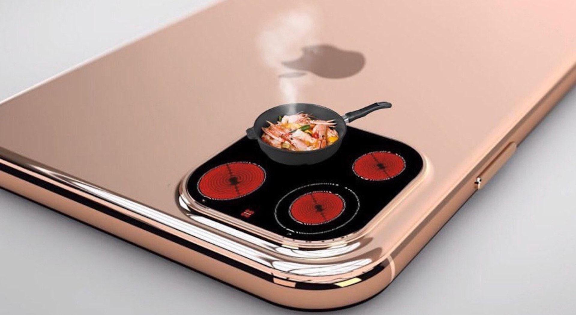 Một cú cosplay bếp điện xuất sắc từ iphone 11