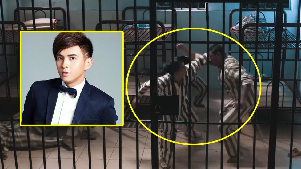 Clip: Hồ Quang Hiếu 1 chọi 5 'đàn anh' trong tù bỗng hot trở lại