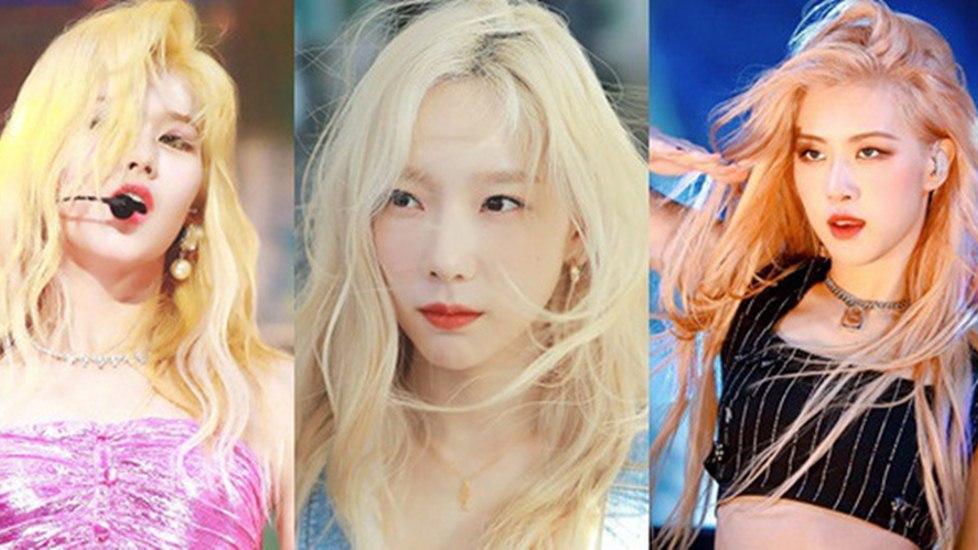 6 nàng 'công chúa tóc vàng' đẹp nhất Kbiz