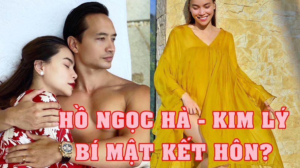 Giữa tin mang song thai, Kim Lý - Hồ Ngọc Hà lộ bằng chứng đính hôn