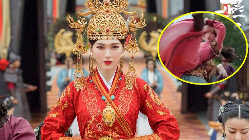 Đường Yên bị 'bóc phốt' dùng diễn viên đóng thế cho trong Yến Vân Đài