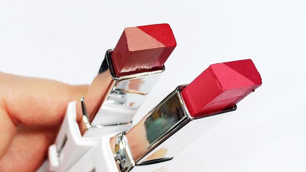 Tự chế son môi 2 màu như của Song Hye Kyo