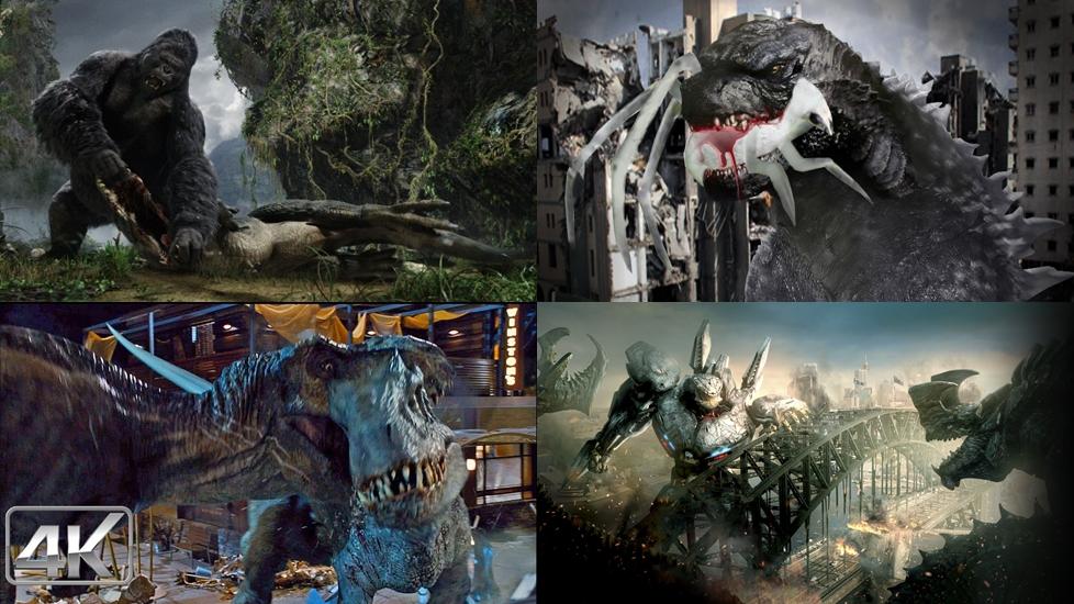 5 trận chiến của quái vật khổng lồ kinh hoàng nhất màn ảnh