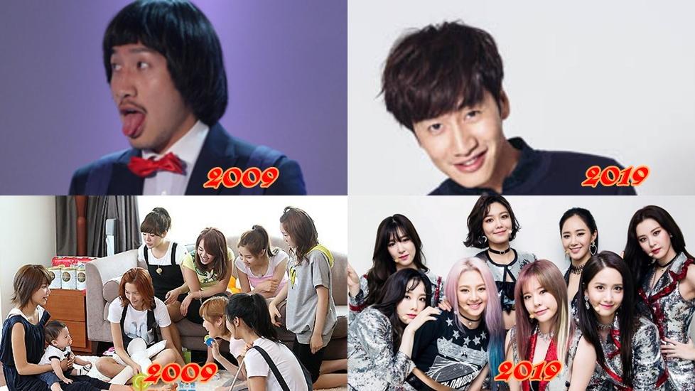 'Thử thách 10 năm' cùng sao Hàn: Ai 'dậy thì' thành công?
