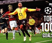 100 bàn thắng đẹp nhất lịch sử Champions League