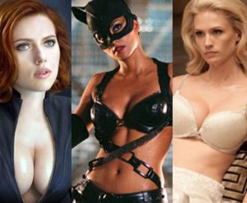 Top nữ siêu anh hùng quyến rũ nhất màn ảnh
