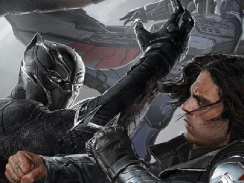 Black Panther truy sát Winter Soldier không thương tiếc trong Civil War