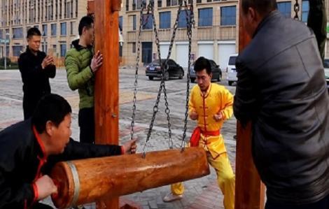 Kungfu thâm hậu, chỉ võ sư Trung Quốc mới dám luyện
