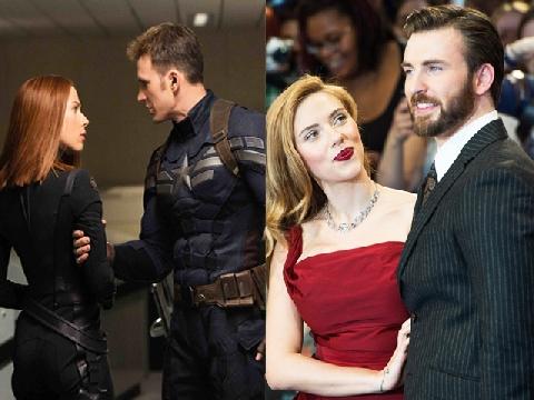 Chris Evans - Scarlett Johansson: Đẹp từ trong phim lẫn ngoài đời