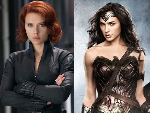 Những 'chị đại' bá đạo của dòng phim siêu anh hùng
