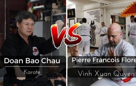 Cận cảnh cao thủ Vịnh Xuân hạ knock-out võ sư Karate Việt