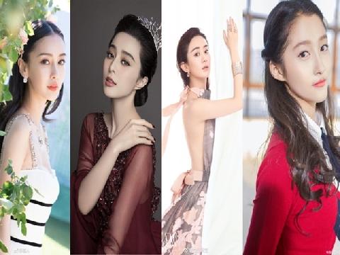 10 mỹ nhân Hoa ngữ nổi tiếng nhất 2017