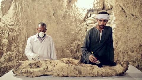 Bí mật trong ngôi mộ cổ 3.500 năm tuổi