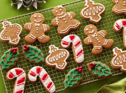 Bánh quy gừng cực ngon và hấp dẫn cho mùa giáng sinh