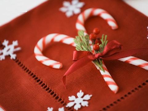 Bánh quy cây gậy cho mùa giáng sinh