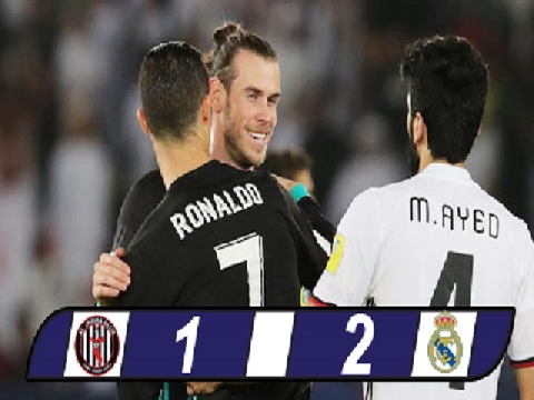 Al Jazira 1-2 Real Madrid  (Bán kết FIFA Club World Cup)