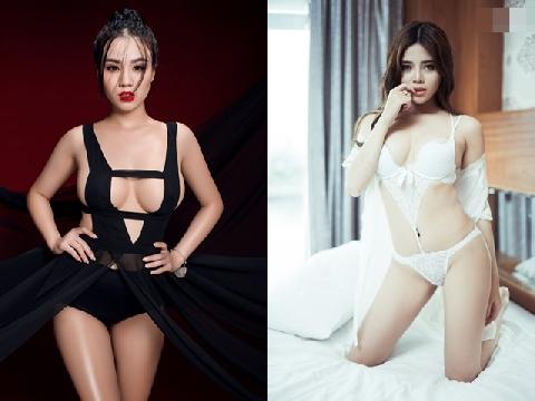 Linh Miu và hot girl Vũng Tàu tung điệu nhảy chúc mừng năm mới gây nhức mắt
