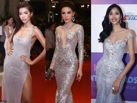 Minh Tú, Kỳ Duyên, Hoàng Thùy và dàn mỹ nhân Việt đua nhau diện váy xẻ cao, gợi cảm trên thảm đỏ