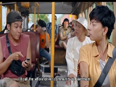 Ngô Thanh Vân - Jun Phạm quậy tưng chuyến xe 'Về Quê Ăn Tết'