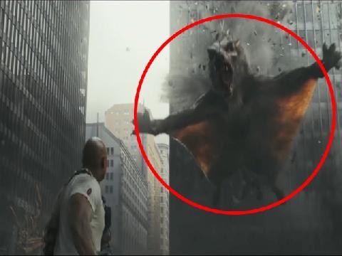 Cá sấu, sói bay khổng lồ khiến The Rock phải sợ hãi trong 'Siêu Thú Cuồng Nộ'