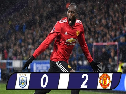 Huddersfield Town 0-2 Manchester United (Vòng 5 FA Cup)