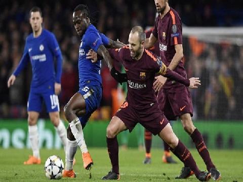 Chelsea 1-1 Barcelona (Lượt đi vòng 1/8 Champions League)