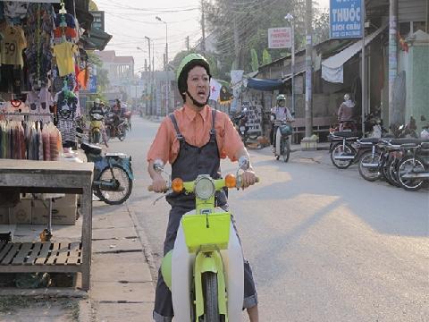 Anh xe ôm 'lầy' nhất Việt Nam!