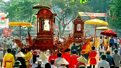 Lễ hội Cổ Loa: Hồn Âu Lạc xưa hiện về