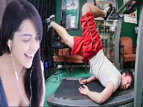 Cười rớt hàm với các pha tai nạn khi tập gym (P2)