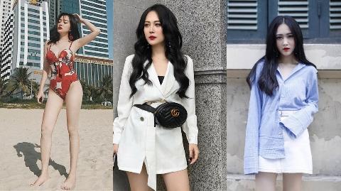 Cận cảnh nhan sắc hút hồn của hotgirl Hà Tĩnh em Hương Tràm