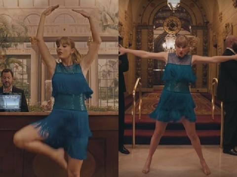 Taylor Swift xé váy, xoạc chân nhảy múa trong MV mới