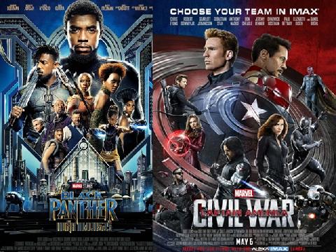 Điểm danh 5 phim siêu anh hùng Marvel vượt mốc 1 tỷ USD