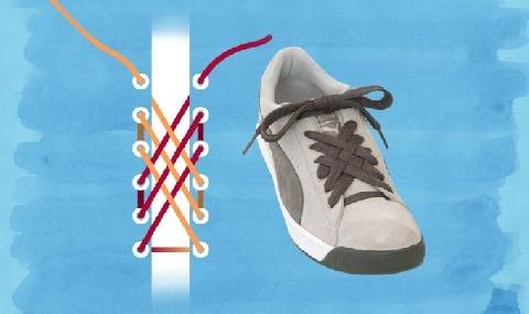 5 cách buộc dây giày siêu nhanh, siêu phong cách