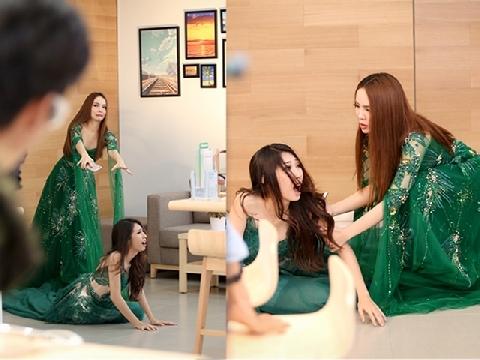 Yến Trang xô ngã Khổng Tú Quỳnh tranh giành vị trí trong showbiz