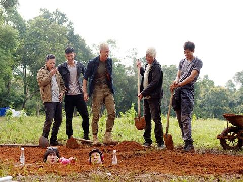 Huy Khánh, Kiều Minh Tuấn lên bờ xuống ruộng trong 'Lật Mặt 3'