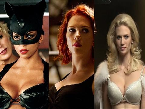 10 Nữ siêu anh hùng có thân hình 'bốc cháy' màn ảnh