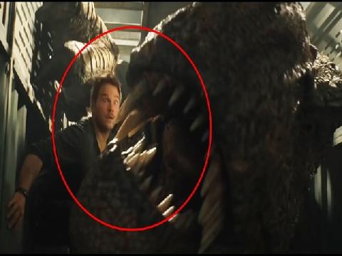 Chris Pratt suýt bị khủng long nuốt chửng trong 'Jurassic World 2'
