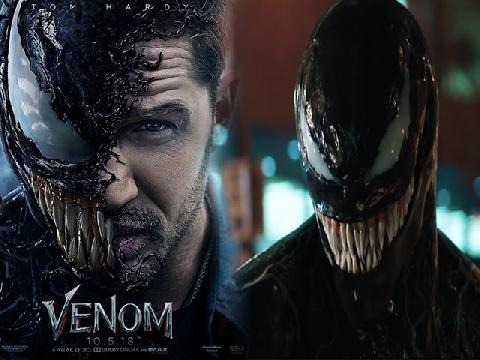 'Venom' - Kẻ thù lâu năm của Spider-Man tung trailer đen tối