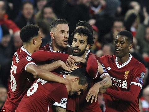 Liverpool 5-2 Roma (Bán kết lượt đi C1)