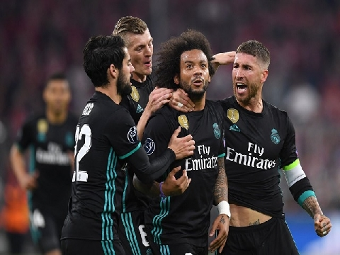Bayern Munich 1-2 Real Madrid (Bán kết lượt đi Champions League)