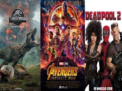 Lịch 'Avengers 3' và các bom tấn chiếu rạp mùa hè 2018