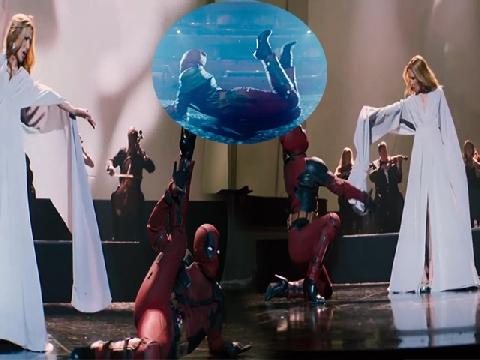 Deadpool đi giày cao gót, múa may quay cuồng trong clip nhạc phim