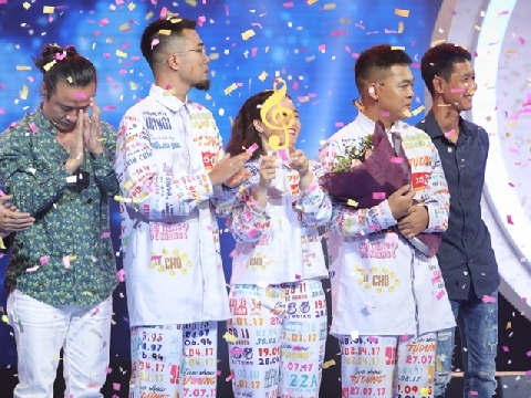 """Lộn Xộn Band đăng quang Quán quân """"Sing My Song 2018"""""""