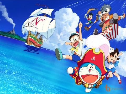 Theo chân Mèo ú Doraemon và nhóm bạn đi tìm 'Đảo Giấu Vàng'