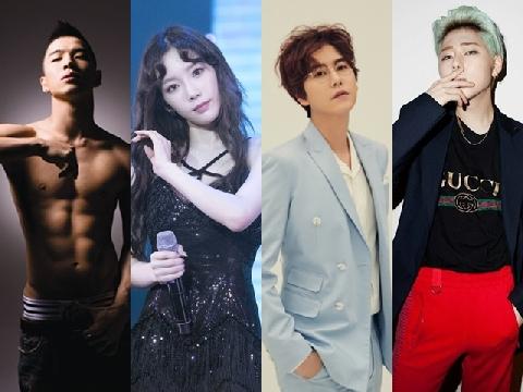 Top 10 ca sĩ hát solo đỉnh nhất Kpop hiện nay.