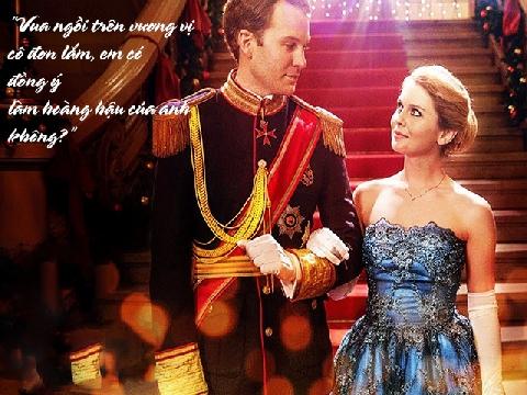 Bất cứ một cô gái nào cũng mong chờ làm hoàng hậu của chàng trai mình yêu!