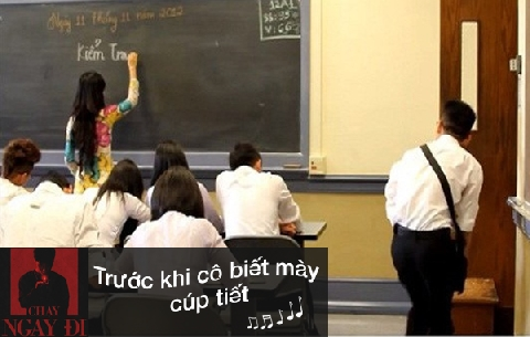 Những tình huống luôn xảy ra trong lớp